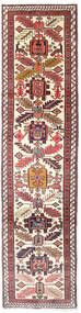 Ardebil Rug 75X292 Authentic  Oriental Handknotted Hallway Runner  Beige/Dark Red (Wool, Persia/Iran)
