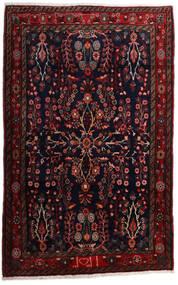 Mehraban Χαλι 105X167 Ανατολής Χειροποιητο Σκούρο Κόκκινο (Μαλλί, Περσικά/Ιρανικά)