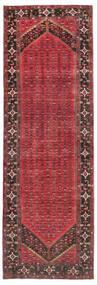 Enjelos Tæppe 165X512 Ægte Orientalsk Håndknyttet Tæppeløber Mørkerød/Mørkegrå (Uld, Persien/Iran)