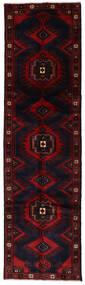 ハマダン 絨毯 82X295 オリエンタル 手織り 廊下 カーペット 深紅色の (ウール, ペルシャ/イラン)
