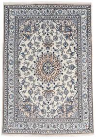 Nain Matta 165X237 Äkta Orientalisk Handknuten Mörkgrå/Ljusgrå (Ull, Persien/Iran)