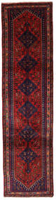 Ghashghai Tæppe 77X297 Ægte Orientalsk Håndknyttet Tæppeløber Mørkerød/Mørkelilla (Uld, Persien/Iran)