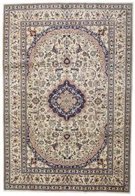 Naïn Tapis 242X351 D'orient Fait Main Gris Clair/Beige (Laine, Perse/Iran)