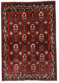 Afshar Matto 120X172 Itämainen Käsinsolmittu Tummanpunainen/Tummanruskea (Villa, Persia/Iran)
