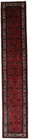 アサダバード 絨毯 83X447 オリエンタル 手織り 廊下 カーペット 濃い茶色/深紅色の (ウール, ペルシャ/イラン)