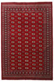 パキスタン ブハラ 3Ply 絨毯 201X301 オリエンタル 手織り 深紅色の/赤/濃い茶色 (ウール, パキスタン)