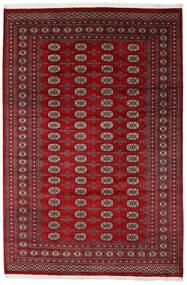 パキスタン ブハラ 2Ply 絨毯 205X308 オリエンタル 手織り 深紅色の/赤 (ウール, パキスタン)