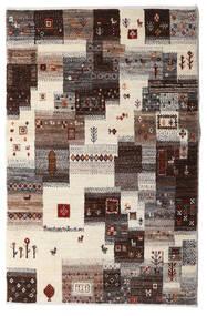 Gabbeh Persia Covor 87X137 Modern Lucrat Manual Bej/Maro Închis/Gri Deschis (Lână, Persia/Iran)