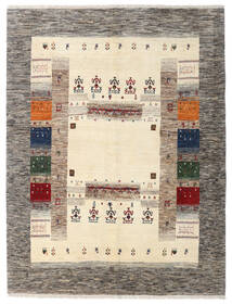Gabbeh Persisch Teppich 162X211 Echter Moderner Handgeknüpfter Hellgrau/Beige (Wolle, Persien/Iran)