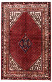 Sarough Mir Teppich  131X204 Echter Orientalischer Handgeknüpfter Dunkelrot/Dunkelbraun (Wolle, Persien/Iran)
