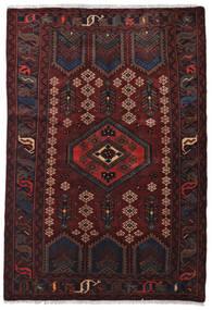 Hamadan Matto 124X182 Itämainen Käsinsolmittu (Villa, Persia/Iran)