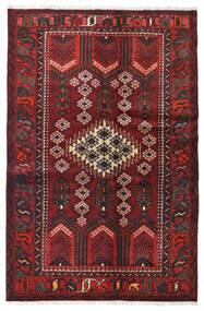 하마단 러그 120X185 정품  오리엔탈 수제 다크 레드/블랙 (울, 페르시아/이란)