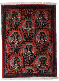 Senneh Rug 73X100 Authentic  Oriental Handknotted Dark Red (Wool, Persia/Iran)