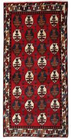 Afshar Χαλι 70X145 Ανατολής Χειροποιητο Σκούρο Κόκκινο/Στο Χρώμα Της Σκουριάς (Μαλλί, Περσικά/Ιρανικά)