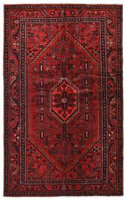 Hamadan Alfombra 128X206 Oriental Hecha A Mano Rojo Oscuro/Marrón Oscuro (Lana, Persia/Irán)