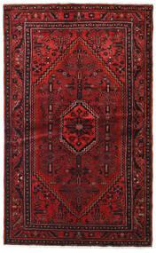 Hamadan Tæppe 127X209 Ægte Orientalsk Håndknyttet Mørkerød/Mørkebrun (Uld, Persien/Iran)