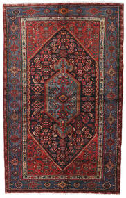 Hamadan Matto 140X222 Itämainen Käsinsolmittu (Villa, Persia/Iran)