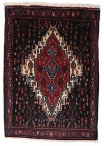 Senneh Teppe 68X96 Ekte Orientalsk Håndknyttet Mørk Rød (Ull, Persia/Iran)