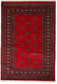Pakistan Bokhara 3Ply Rug 143X207 Authentic  Oriental Handknotted Crimson Red/Dark Red (Wool, Pakistan)