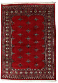 Pakistan Bokhara 3Ply Rug 140X199 Authentic  Oriental Handknotted Dark Red/Dark Brown (Wool, Pakistan)