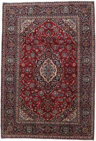 Keshan Matto 200X290 Itämainen Käsinsolmittu Tummanpunainen (Villa, Persia/Iran)