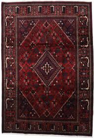 Joshaghan Tæppe 214X310 Ægte Orientalsk Håndknyttet Mørkebrun/Mørkerød (Uld, Persien/Iran)