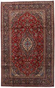 Keshan Matto 200X320 Itämainen Käsinsolmittu Tummanpunainen/Tummanharmaa (Villa, Persia/Iran)