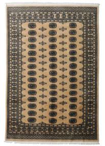 Pakistan Bokhara 2Ply Teppe 163X241 Ekte Orientalsk Håndknyttet Mørk Grå/Lysbrun (Ull, Pakistan)
