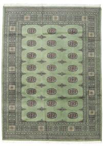 パキスタン ブハラ 2Ply 絨毯 168X229 オリエンタル 手織り 濃いグレー/薄い灰色 (ウール, パキスタン)