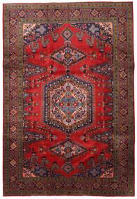 Wiss Dywan 213X316 Orientalny Tkany Ręcznie Ciemnoczerwony/Czarny (Wełna, Persja/Iran)