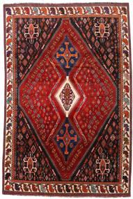 Ghashghaï Tapis 208X317 D'orient Fait Main Rouge Foncé/Rouille/Rouge (Laine, Perse/Iran)
