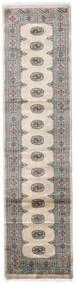 Pakistan Buchara 3Ply Teppich 79X315 Echter Orientalischer Handgeknüpfter Läufer (Wolle, Pakistan)