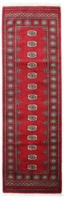 Pakistan Buchara 3Ply Teppich 78X249 Echter Orientalischer Handgeknüpfter Läufer (Wolle, Pakistan)
