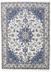 Nain Covor 148X205 Orientale Lucrat Manual Gri Deschis/Bej (Lână, Persia/Iran)