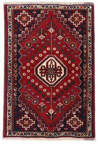 Kaszkaj Dywan 100X147 Orientalny Tkany Ręcznie Czarny/Czerwony/Ciemnoczerwony (Wełna, Persja/Iran)
