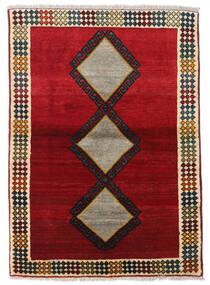 Kaszkaj Dywan 100X143 Orientalny Tkany Ręcznie Czerwony/Ciemnobrązowy (Wełna, Persja/Iran)