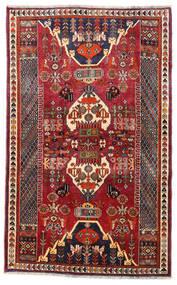 Ghashghaï Tapis 112X180 D'orient Fait Main Rouge Foncé/Marron Foncé (Laine, Perse/Iran)