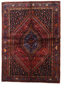 Hamadan Dywan 153X211 Orientalny Tkany Ręcznie Ciemnoczerwony/Ciemnobrązowy (Wełna, Persja/Iran)