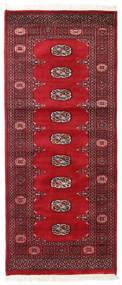 Pakistan Buchara 2Ply Teppich 78X187 Echter Orientalischer Handgeknüpfter Läufer (Wolle, Pakistan)
