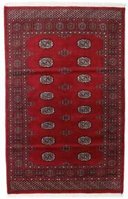 Pakistański Bucharski 2Ply Dywan 119X186 Orientalny Tkany Ręcznie Ciemnoczerwony/Czerwony (Wełna, Pakistan)