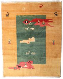 Gabbeh Rustic Dywan 213X269 Nowoczesny Tkany Ręcznie Jasnobrązowy/Ciemnobeżowy (Wełna, Persja/Iran)