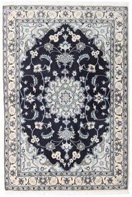 Nain Tapete 131X194 Oriental Feito A Mão Cinzento Claro/Porpora Escuro (Lã, Pérsia/Irão)