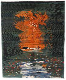 Gabbeh Rustic Tapis 180X220 Moderne Fait Main (Laine, Perse/Iran)