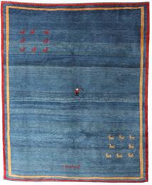 Gabbeh Rustic Rug 178X263 Authentic  Modern Handknotted Blue/Dark Blue (Wool, Persia/Iran)