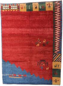 Gabbeh Rustic Dywan 229X310 Nowoczesny Tkany Ręcznie Rdzawy/Czerwony/Niebieski (Wełna, Persja/Iran)