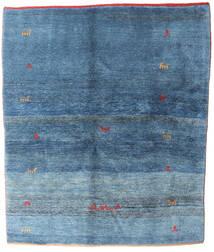 Gabbeh Rustic Tapete 177X210 Moderno Feito A Mão Azul/Azul Claro (Lã, Pérsia/Irão)