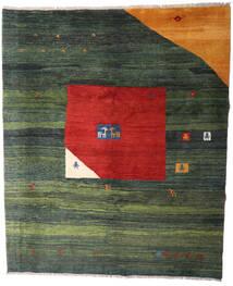 Gabbeh Rustic Covor 244X295 Modern Lucrat Manual Verde Închis/Ruginiu (Lână, Persia/Iran)