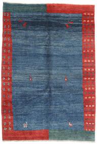 Gabbeh Rustic Covor 187X274 Modern Lucrat Manual Albastru/Albastru Închis (Lână, Persia/Iran)