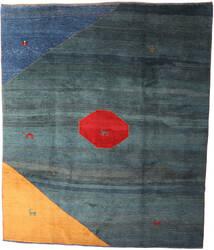 Gabbeh Rustic Covor 238X365 Modern Lucrat Manual Albastru Închis/Albastru (Lână, Persia/Iran)