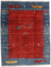 Gabbeh Rustic Szőnyeg 259X331 Modern Csomózású Rozsdaszín/Sötétkék Nagy (Gyapjú, Perzsia/Irán)